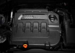 Audi A3/Motorraum