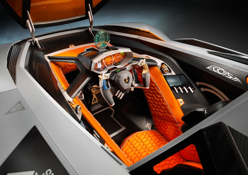 Lamborghini Egoista: un deportivo que le falta volar Lamborghini-egoista-007