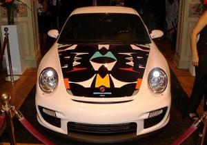 Porsche capo arte